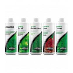 Fertilizzazione Base pacchetto Flourish + Iron + Excel + Potassium + Trace